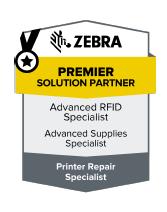 Zebra Premier Partner badge