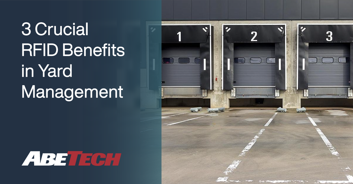 3 Crucial RFID Benefits in Yard Management