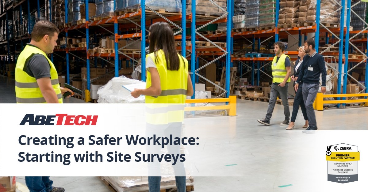 Creating a Safer Workplace: Site Surveys and Mobile Technologies for Employee Safety