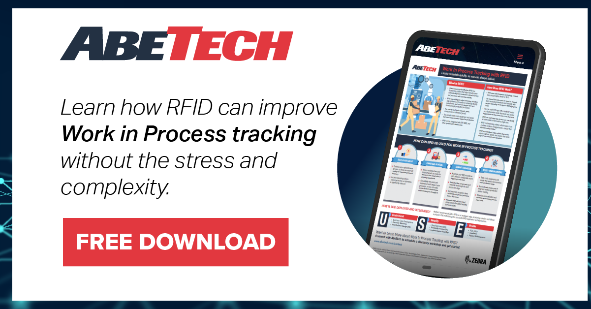 [Infographic] Maximize Your Work In Process Tracking With RFID