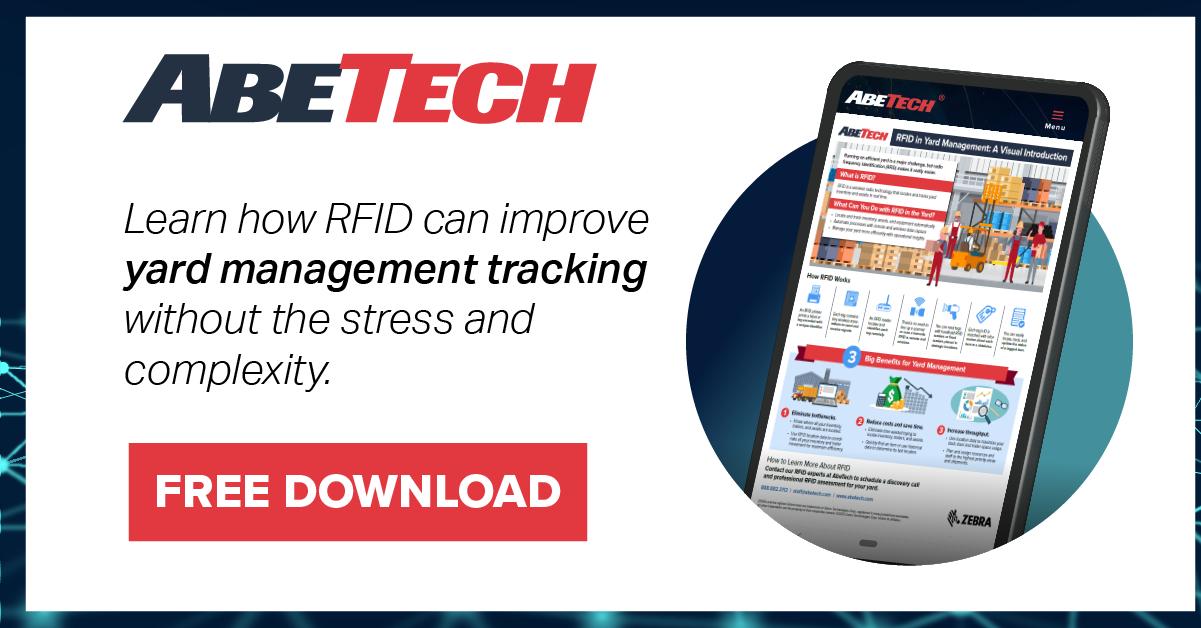 [Infographic] RFID Making Yard Management Easy
