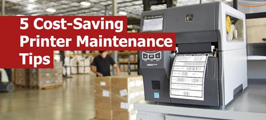 5 Cost-Saving Printer Maintenance Tips