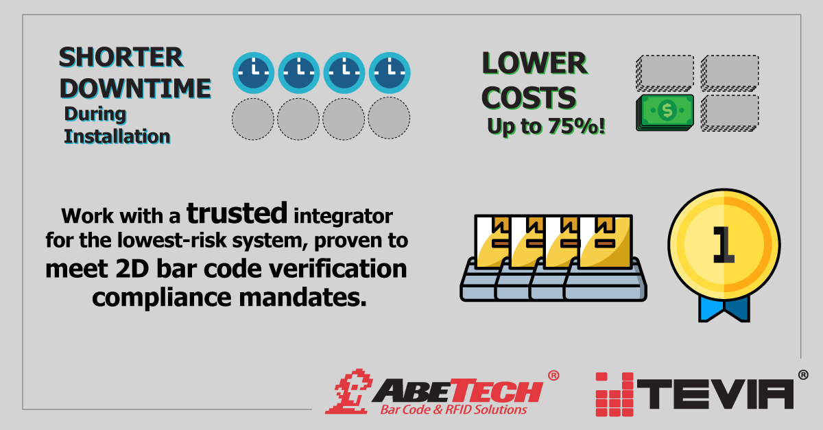 Why Do Manufacturers Choose AbeTech for 2D Bar Code Verification?