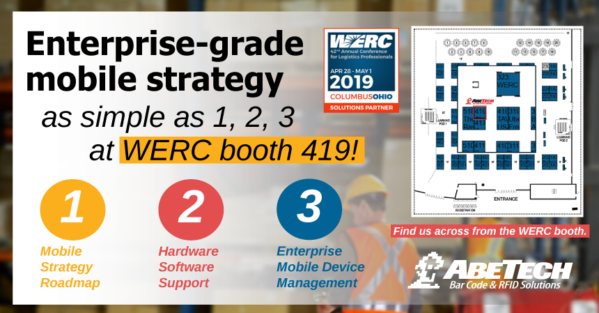 Visit AbeTech at WERC 42nd Annual Conference for Logistics Professionals